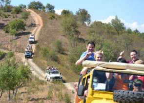 Algarve Jeep Safari Slide and Splash Full-Day Tour