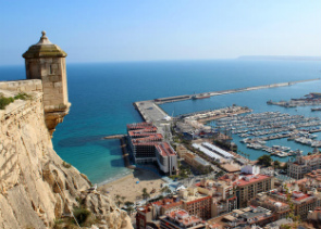Private Santa Barbara Castle Tour in Alicante