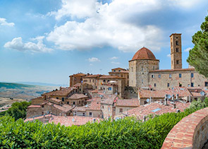 Private tour of Volterra and San Gimignano