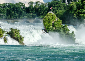 Private Tour from Zurich to the Rhine Falls