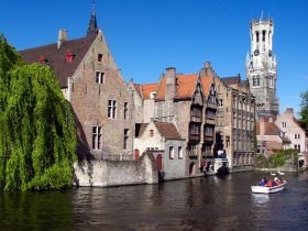Ghent and Bruges Tour from Brussels